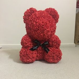 Rose Red rose teddy bear